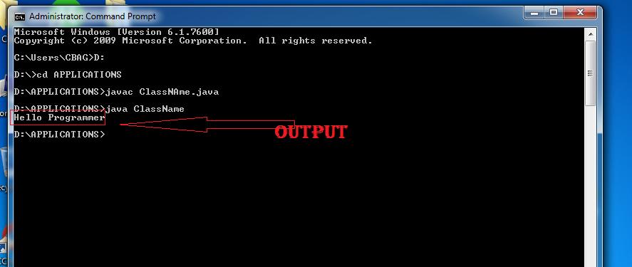 run java code