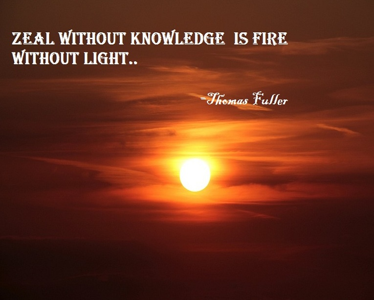 Quote on Knowledge