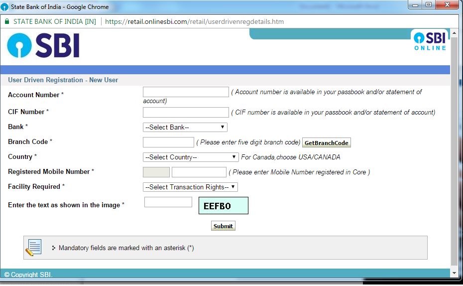 How to apply ipo online from sbi net banking
