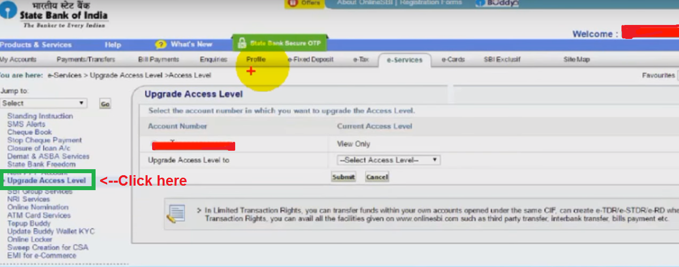 sbi net banking app for windows 7